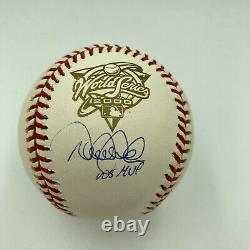 Derek Jeter World Series MVP Signed 2000 World Series Baseball Steiner COA
