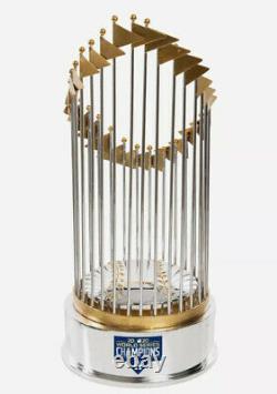 Dodgers 2020 World Series Baseball Replica Trophy Champions Foco Mlb New Nib