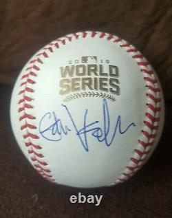 EDDIE VEDDER signed 2016 World Series Baseball PEARL JAM, CUBS PSA/DNA AC06011