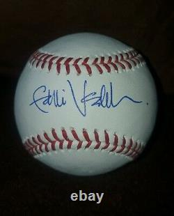 EDDIE VEDDER signed 2016 World Series Baseball PEARL JAM, CUBS PSA/DNA AC06012