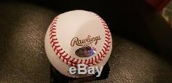 Gary Jones Autographed 2016 World Series Baseball, COA, Schwartz Sports, Cubs