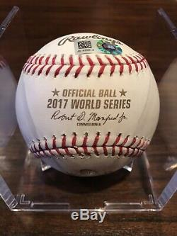 George Springer Autographed ROMLB World Series Baseball Astros 17 WS MVP MLB
