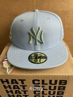 Hat Club Exclusive NY Yankees Blue Sugar Shack 2001 World Series 7 1/2 In Hand