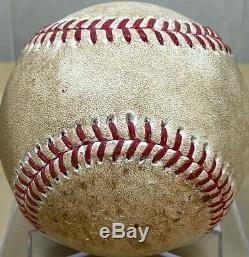 JORGE SOLER 2016 NLDS GM3 GAME-USED MLB BASEBALL CUBS v GIANTS WORLD SERIES YEAR