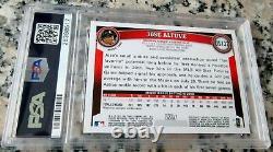 JOSE ALTUVE 2011 Topps Update Rookie Card RC PSA 9 Astros World Series $$ HOT $$