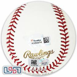 Jake Arrieta Cubs Signed Fly The W 2016 World Series Baseball MLB Auth