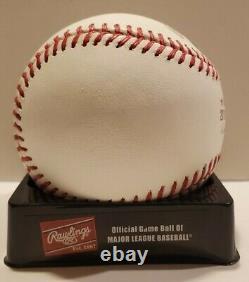 Javier Baez 2018 World Series Autograph Baseball Cubs Mets MLB COA Fanatics Auto