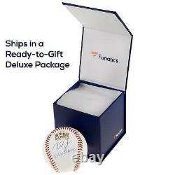 Javier Baez Cubs Signed 2016 MLB World Series Baseball Fanatics
