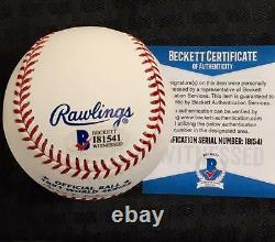 Jerry Reuss signed 1981 WS Champ Dodgers World Series Baseball BAS Beckett COA