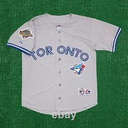 Joe Carter Toronto Blue Jays 1992 World Series Road Grey Men's Jersey