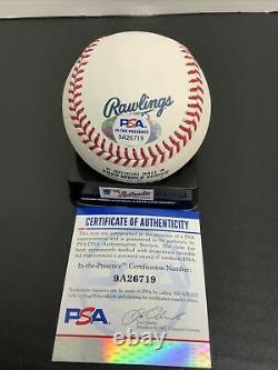 Joe Kelly Dodgers Signed 2020 World Series Baseball Psa Witness Coa