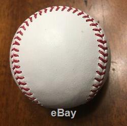 John Lackey Signed 2016 Rawlings World Series Baseball PSA/DNA COA Chicago Cubs
