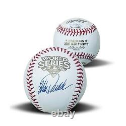 Jorge Posada New York Yankees Autographed 2009 World Series Signed Baseball JSA