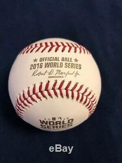 Jorge Soler Chicago Cubs Autographed 2016 World Series Baseball