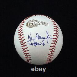 Ken Hawk Harrelson Chicago White Sox Signed Autograph 2005 World Series Baseball