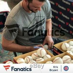 Kris Bryant Chicago Cubs Signed 2016 MLB World Series Baseball Fanatics