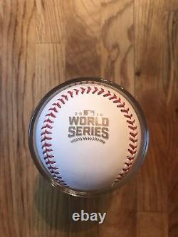 Kyle Schwarber Cubs Autographed 2016 World Series Signed Baseball PSA/DNA COA