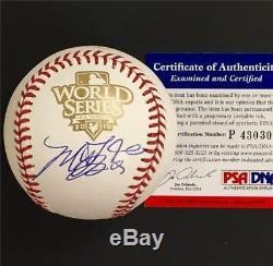 MADISON BUMGARNER Giants Autograph Signed 2010 World Series Baseball PSA/DNA COA