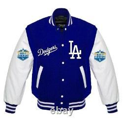 MLB Los Angeles Dodgers Varsity baseball jacket World Series Champions