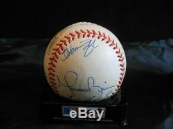 Mariano Rivera +6 Signed 1998 World Series Baseball New York Yankees Sale