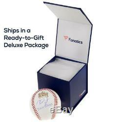 Mariano Rivera New York Yankees Autographed 2009 World Series Logo Baseball