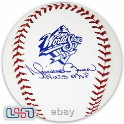 Mariano Rivera Yankees Signed 99 WS MVP 1999 World Series Baseball JSA Auth