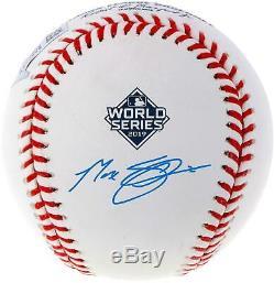Max Scherzer Washington Nationals Signed 2019 World Series Champs Baseball