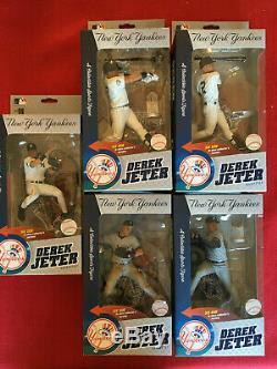 McFarlane Derek Jeter World Series Commemorative Set of 5 Figurines NIB #/3000