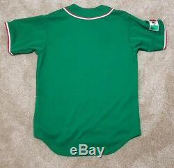 Mexico Serie del Caribe Baseball Caribbean World Series Majestic Jersey Size M