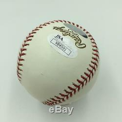 Miguel Cabrera Rookie Signed Official 2003 World Series Baseball With JSA COA