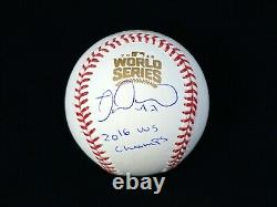 Miguel Montero Chicago Cubs Signed Autographed 2016 World Series Baseball JSA