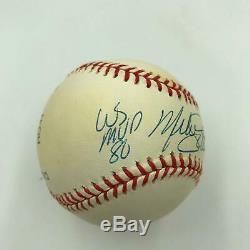 Mike Schmidt MVP 1980, 1981, 1986 World Series MVP 1980 Signed Baseball JSA COA