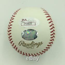 Mint Albert Pujols #5 Signed Official 2011 World Series Baseball JSA COA