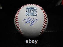Mookie Betts Autographed 2020 World Series Baseball! L. A. Dodgers! Fanatics