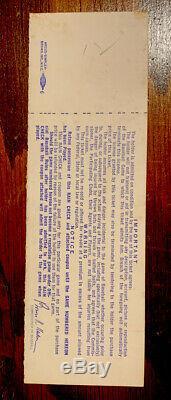 NY METS 1969 World Series Game 3 Ryan Win! Full Ticket