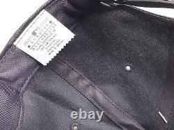 New Vintage 90s Chicago White Sox Black Dome Plain Logo Snapback Baseball Hat