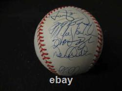 New York Yankees Signed Auto 1998 World Series Baseball 23 Sigs Goldin Coa Bb479