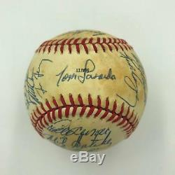 Nice 1988 Los Angeles Dodgers World Series Champs Team Signed Baseball JSA COA
