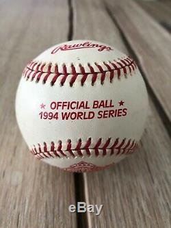 Nolan Ryan Signed Baseball Houston Astros HOF Autograph Ball 1994 World Series