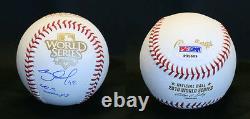 Pablo Sandoval SIGNED 2010 World Series SF Giants Baseball PSA/DNA AUTOGRAPHED