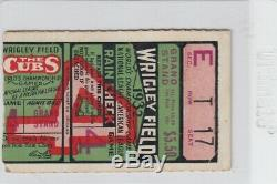 Pair (2) 1932 World Series Ny Yankees Title Babe Ruth Last Ws Game 4 Ticket