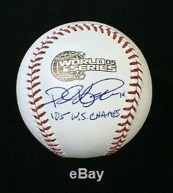 Paul Konerko Chicago White Sox Signed Autographed 2005 World Series Baseball JSA