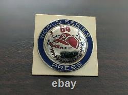 Philadelphia Phillies 1964 Phantom World Series Press Pin-Original Jewelers Box
