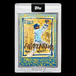 RANDY AROZARENA 2020 Topps Project x World Series Gregory Siff AP #/58 RC Silver