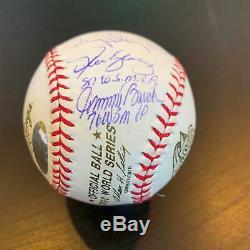 RARE World Series MVP's Signed Inscribed Baseball Steiner Hologram