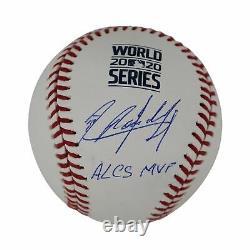 Randy Arozarena Signed World Series Baseball Alcs Mvp (jsa Witness)