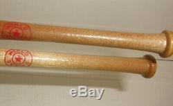 Rare 1947 Ny Yankees Brooklyn Dodgers World Series Pen Pencil Baseball Bat Set