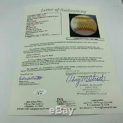 Rare Reggie Jackson & 1977 World Series 3 Home Run Pitchers Signed Baseball JSA