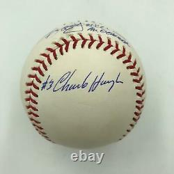Reggie Jackson 1977 World Series 3 Home Runs Signed Baseball With All Pitchers