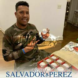 Salvador Perez Royals Signed 2015 WS MVP 2015 World Series Baseball JSA Auth
